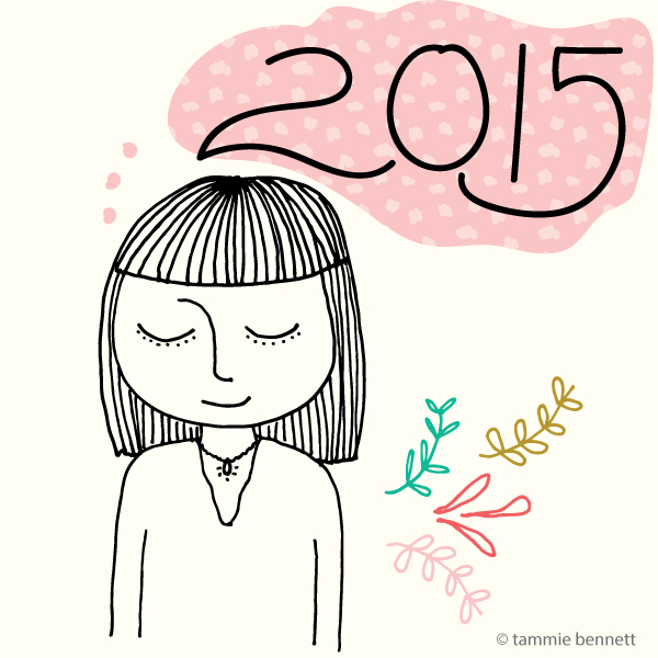 tools for planning a great 2015, illustration by tammie bennett