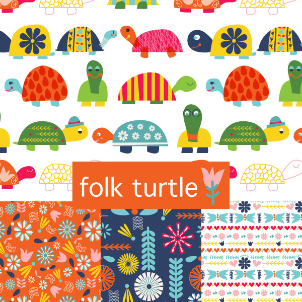 tammie bennett's folk turtle collection cover