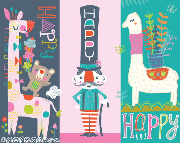 happy happy art collective will be at SURTEX 2015 in booth 532