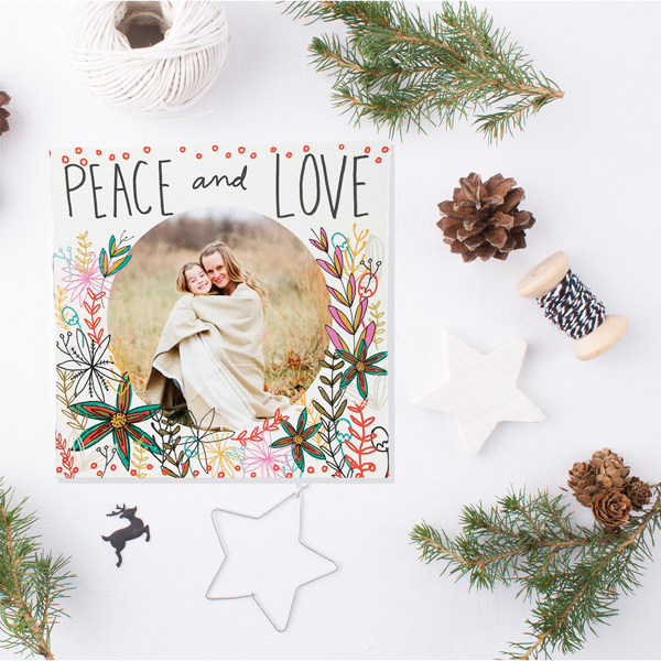 tammie bennett's peace and love card on mpix