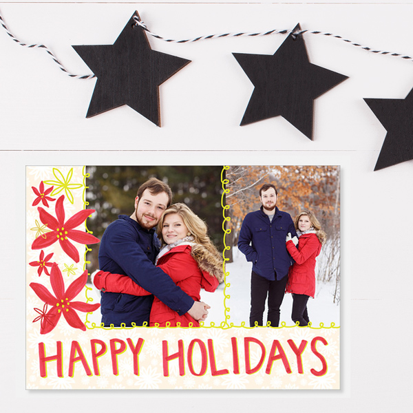 tammie bennett happy holidays photo card on mpix