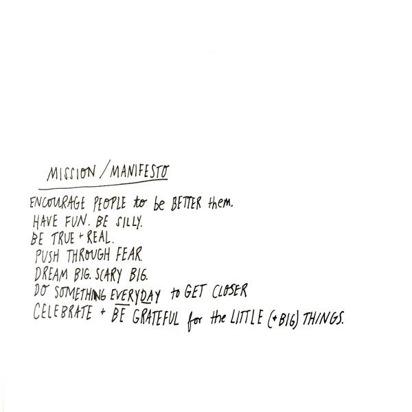 tammie bennett art business manifesto mission statement