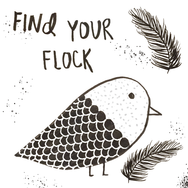 find your flock - personal project