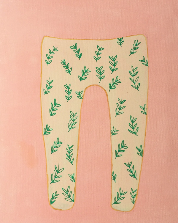 plants leggings - personal project