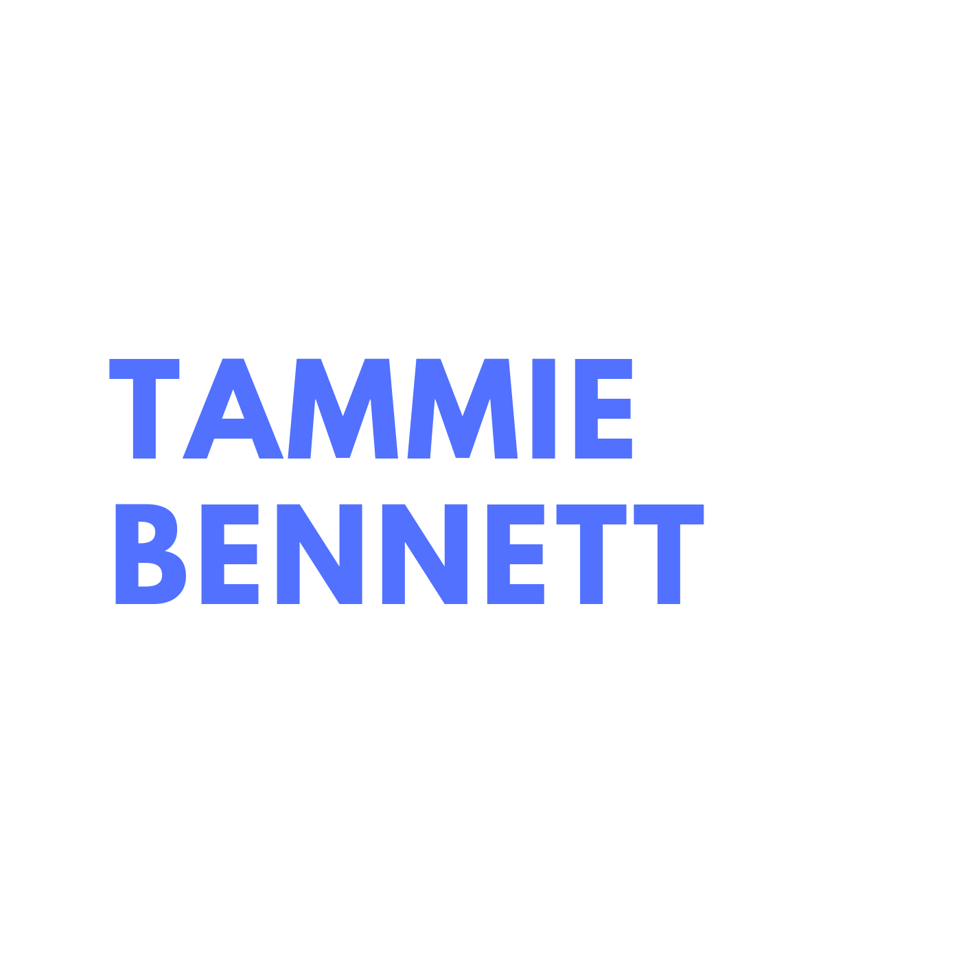 tammie bennett // show up society