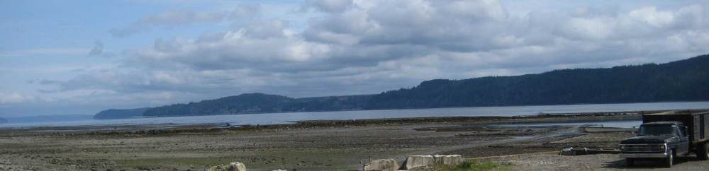 The Hood Canal Washington, where many high quality oysters are produced.