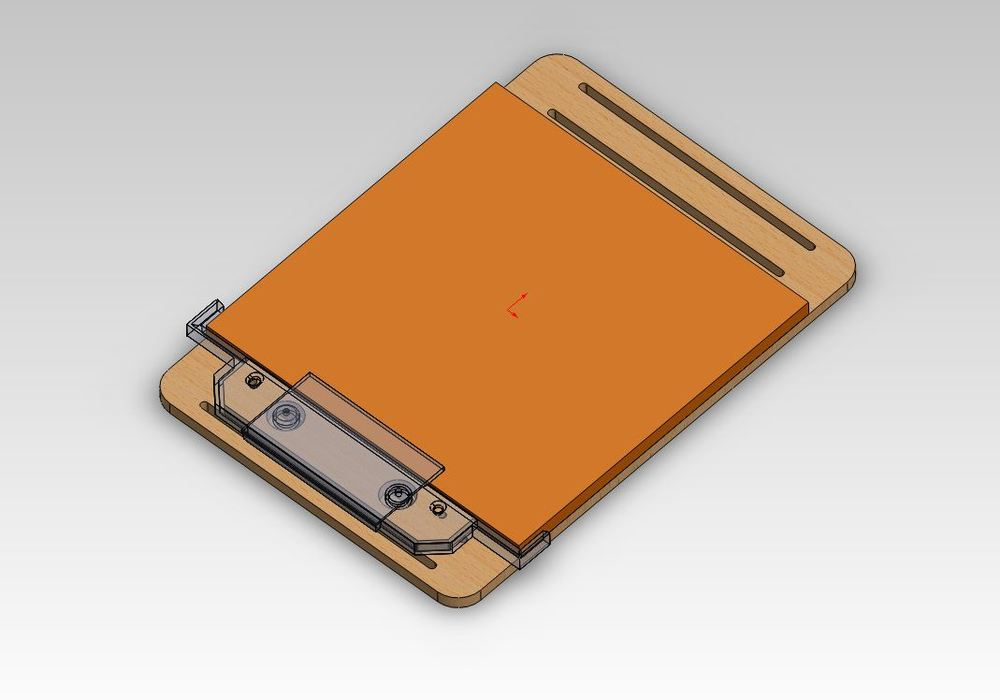 Here is the in progress CAD assembly
