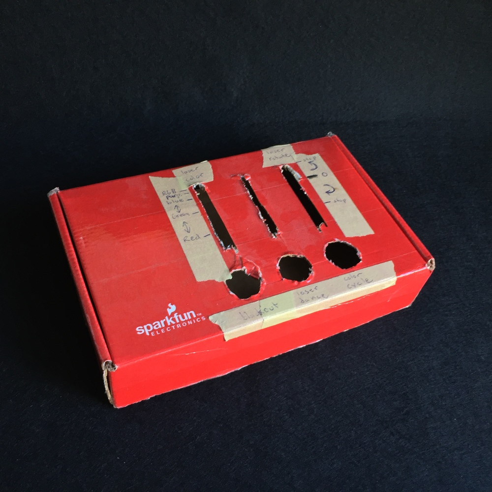 My first very first arcade controllers were for DJs to control lighting effects live with arcade buttons and sliders