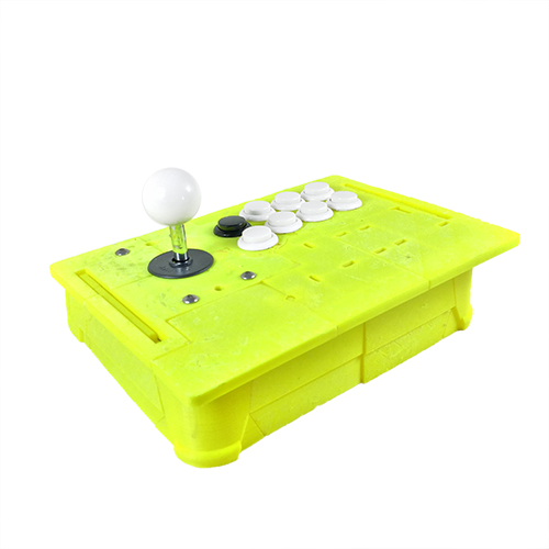 3d print arcade fight stick controller cuddleburrito