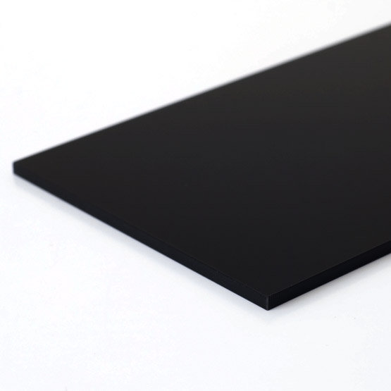 Gloss black acrylic