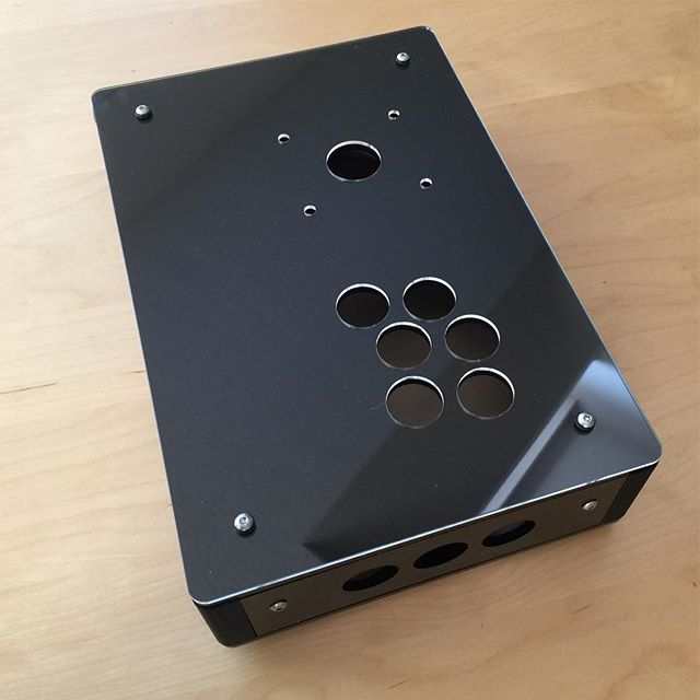 Custom laser cut arcade frame with cutouts for raspberry pi #custom #arcade #videogames #retropie #RPi #raspberrypi #mame #joysticks #fightstick #frame #gamerlife #gamerguy #gamergirl #pacman #arcadegames