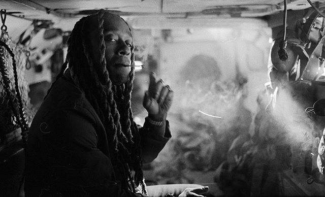 @tydollasign on set of the @postmalone psycho video.  #leicam6