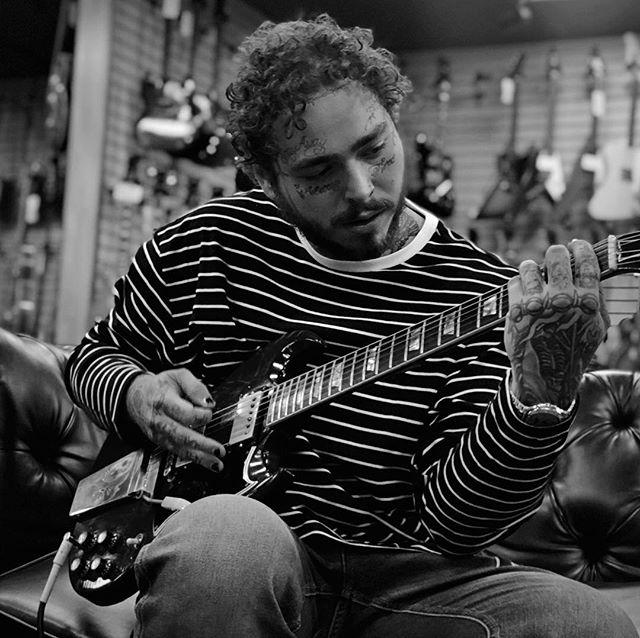 Guitar Shopping 🎸 | @postmalone #iphonex