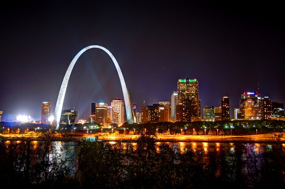 St. Louis Skyline 10.26.2013