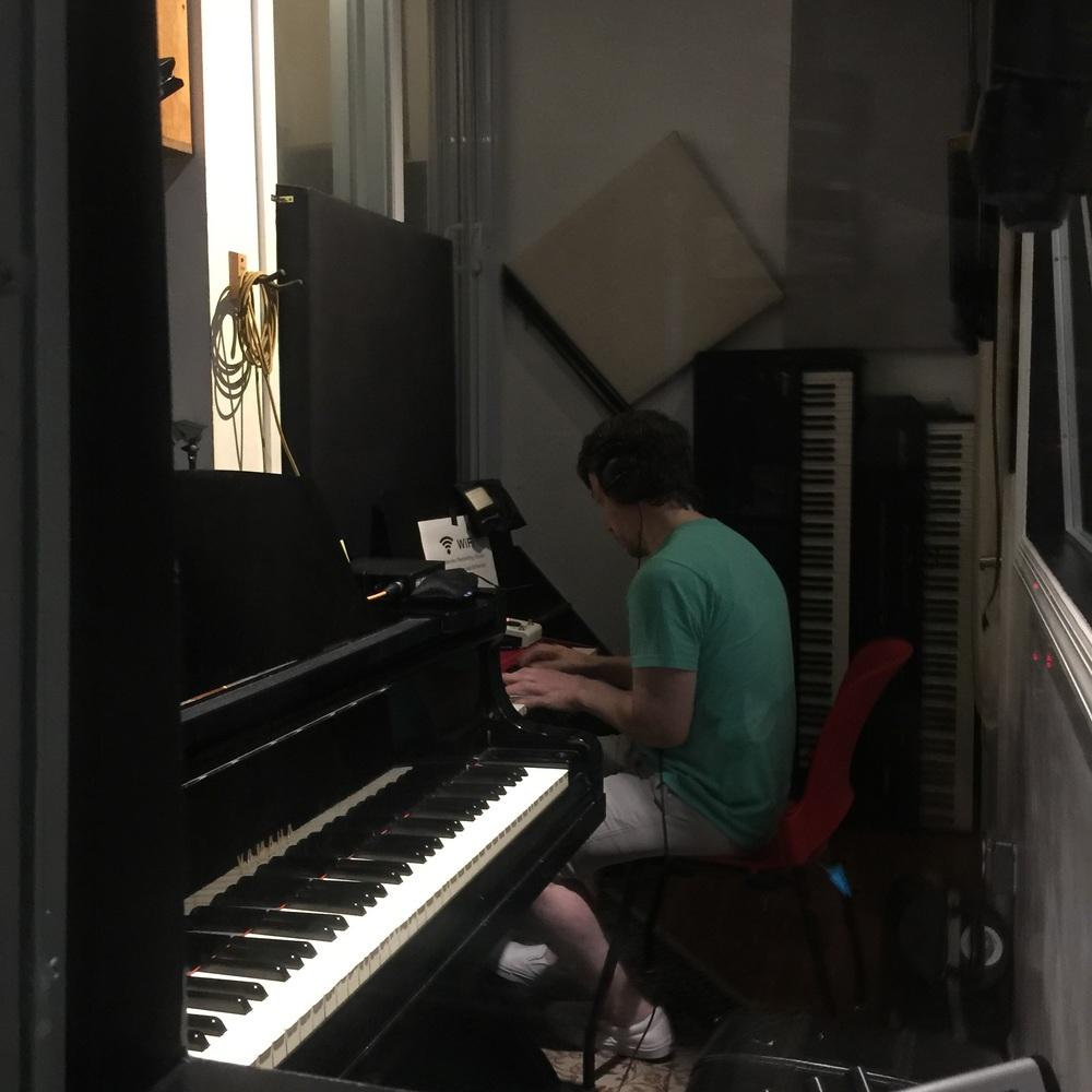 recording a take