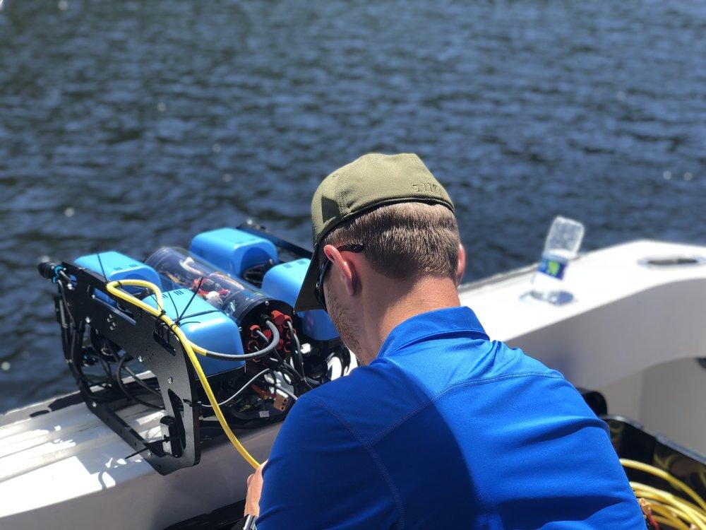 Blue Robotics ROV