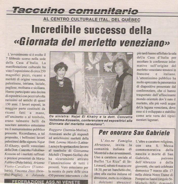 Il Cittadiano Canadese, 24 Feb 1999