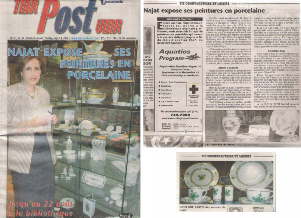 TMR Post - 4 August 2002