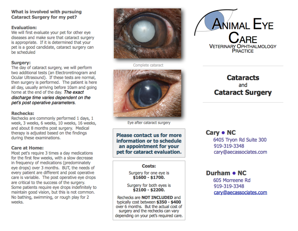 Cataract Brochure AEC_NC Page 1