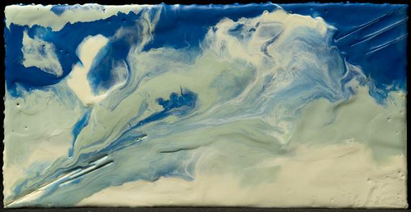 Michelle Butler ,  Amphitrite (encaustic painting)