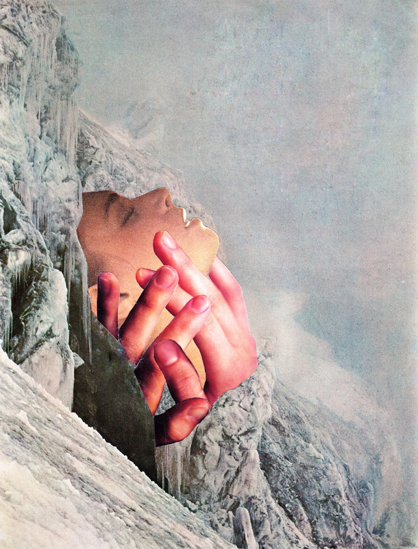 Erin Case ,  Out Of The Cold  (collage)