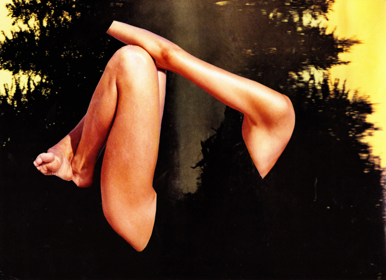 Erin Case, Yin (collage)