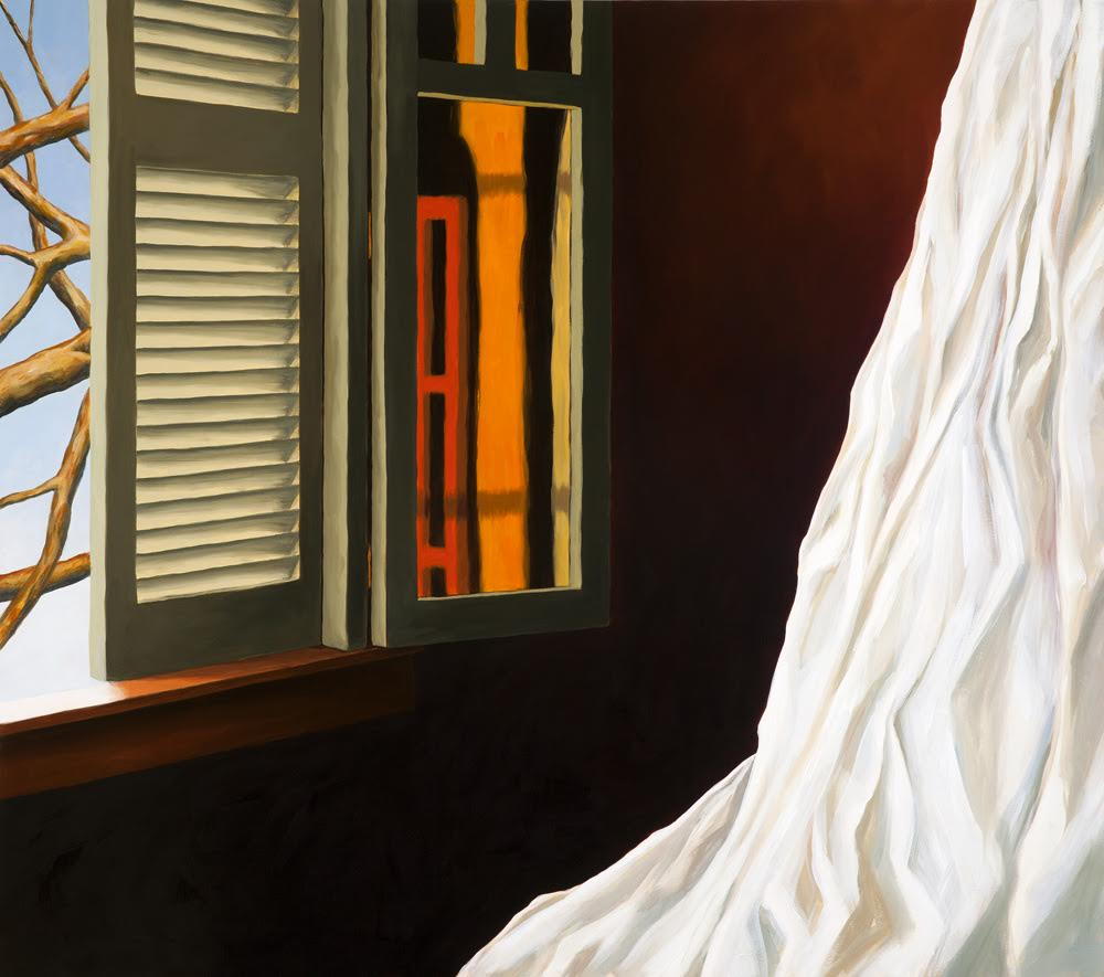 Susan Bennerstrom, Ionia (oil on canvas)