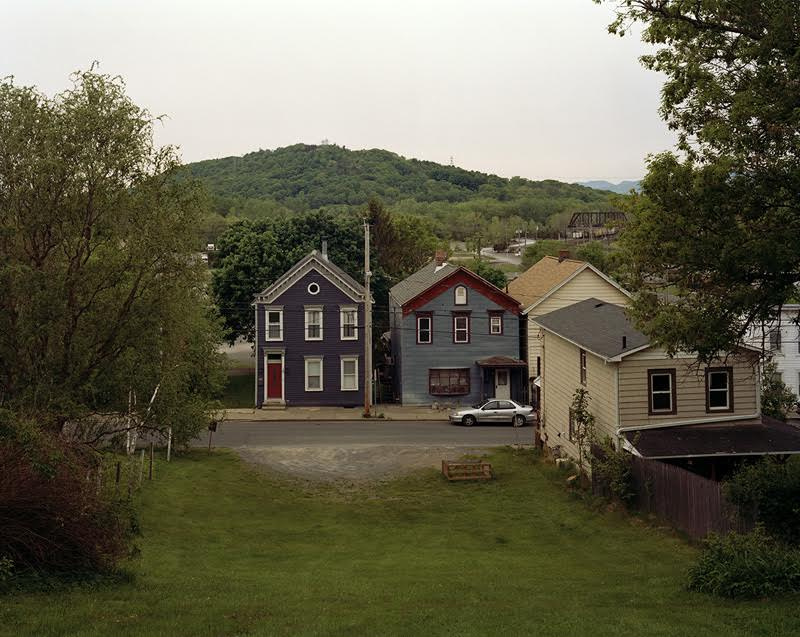 Tema Stauffer ,  Cross Street, Hudson, New York, 2016    (photograph)