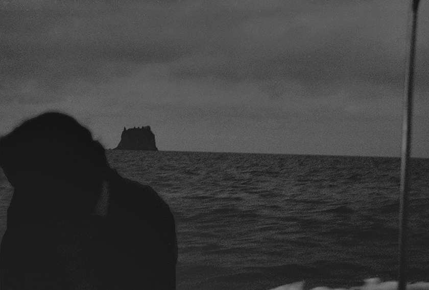 Williamson Brasfield ,  Open Sea, Stromboli, from  Cathedrals in the Desert , 2016  (photograph)
