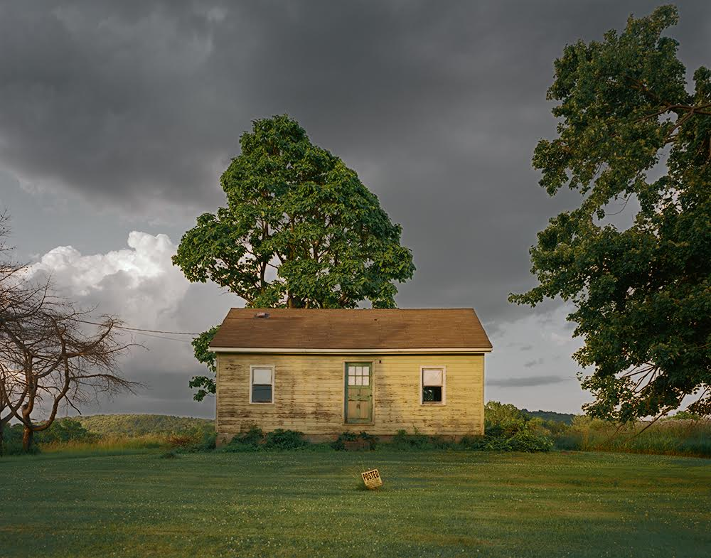 Tema Stauffer, Yellow House, Germantown, New York, 2017 (photograph)