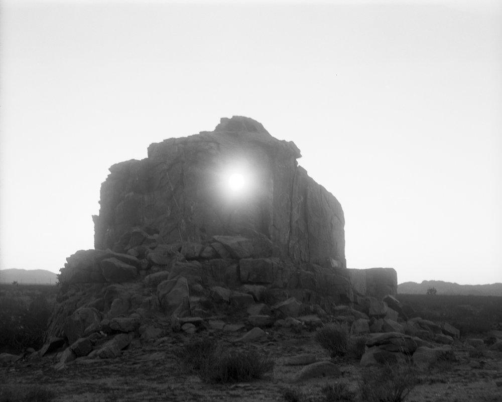 "Cole Caswell, Burn Rate, Desert Portal (inkjet print), 20""x24"", California, 2016"