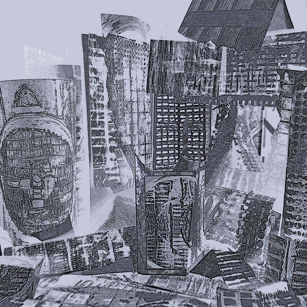 Jenny Blazing ,  Semblance , 2017  Paper sculpture