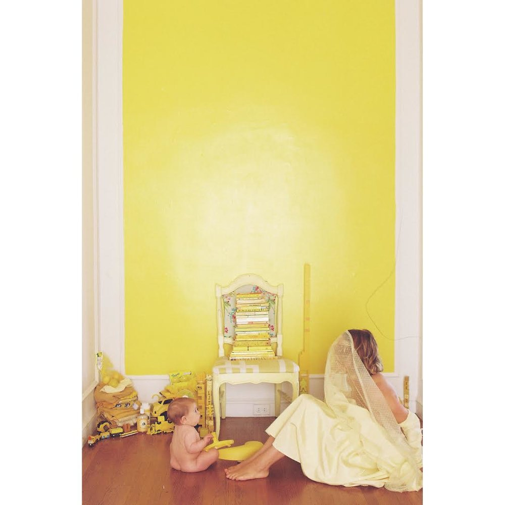 Chelsea America ,  Self-Portrait With Everything I Own-Yellow , 2012 35mm film