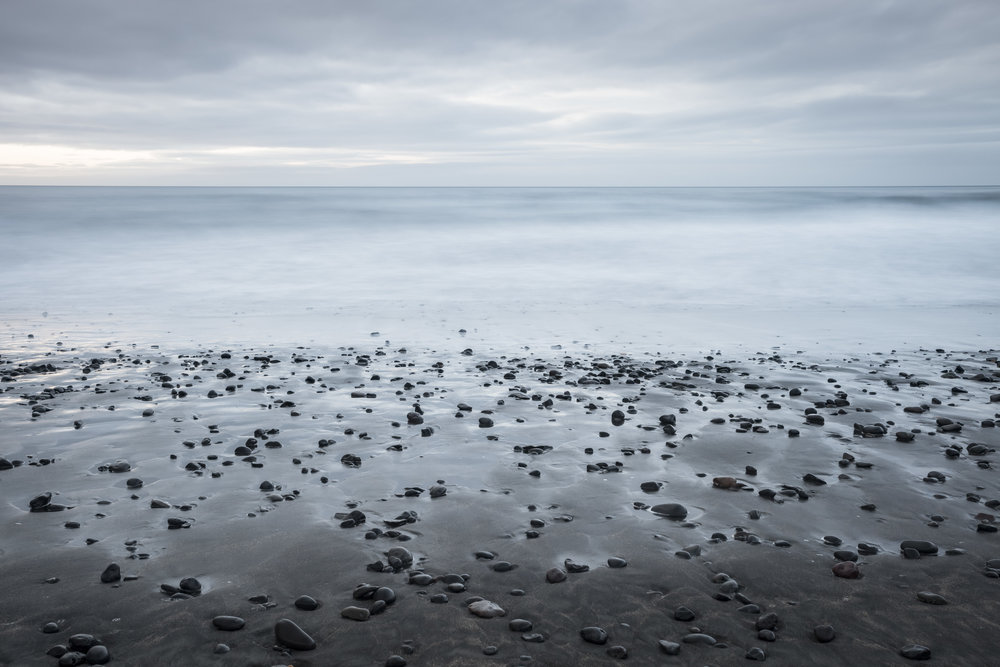 Lauren Greathouse ,  Black Sands. Vik, Iceland, 2016.  ( Artist Website )  Archival pigment print 11.4 x 17.25""