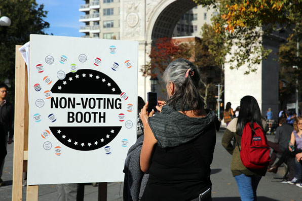 Non-Voting Booth  I Prototyping data