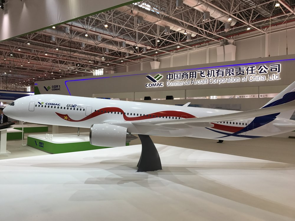China's wide body future - COMAC's twin aisle development