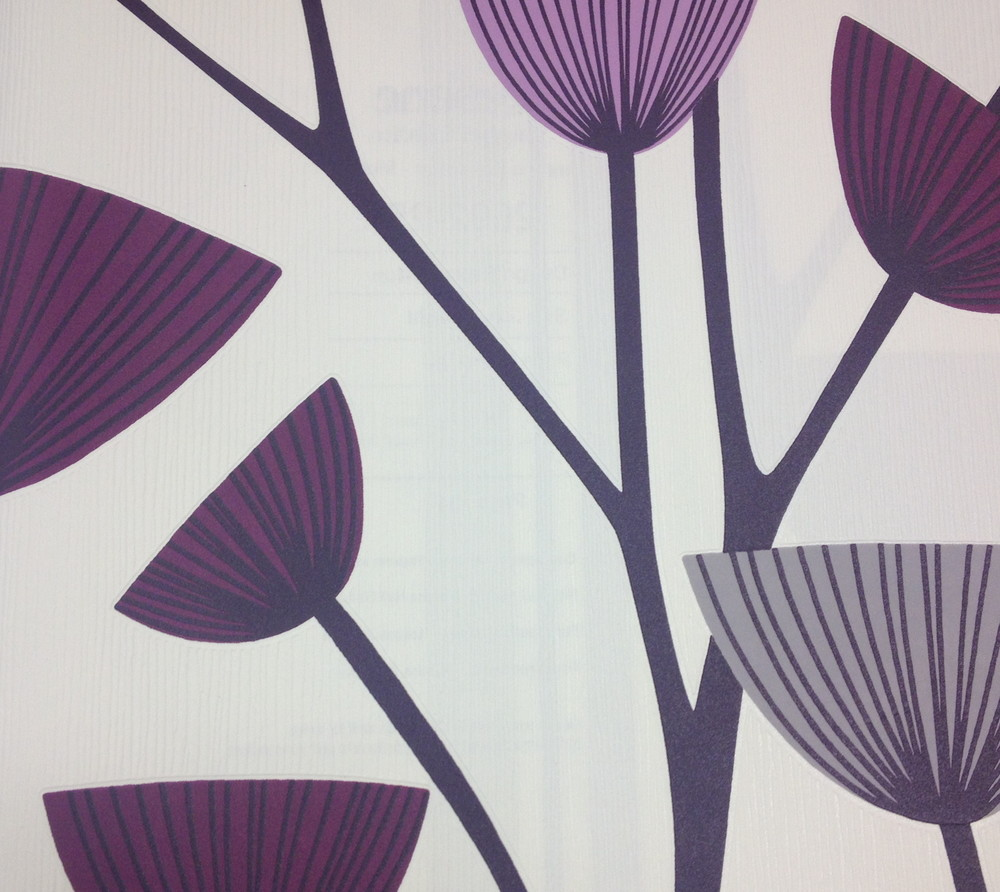 A great contemporary styled floral paper