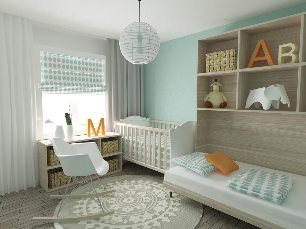 - Designing a great nursery space is about creating a space that you love spending time in