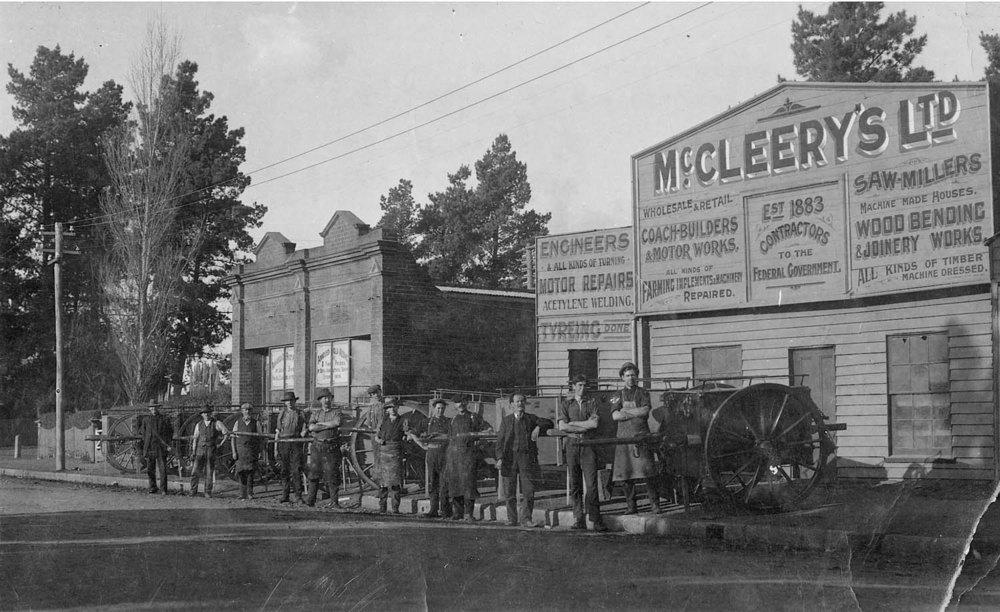 McCleery's Factory 1915