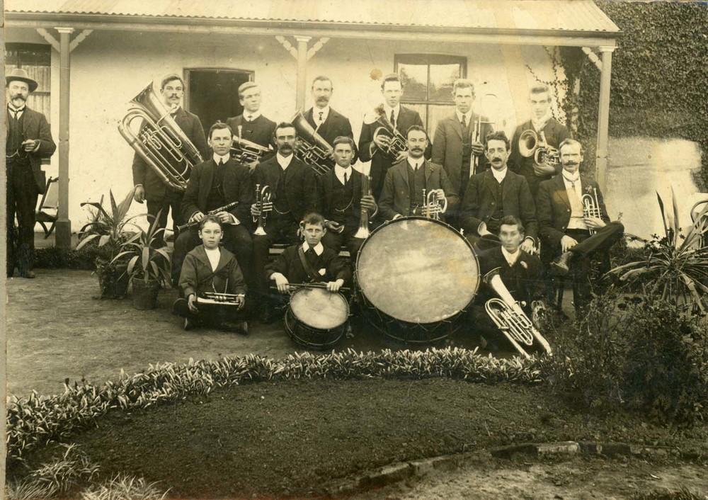 Bowral Band, Bert Stokes front left