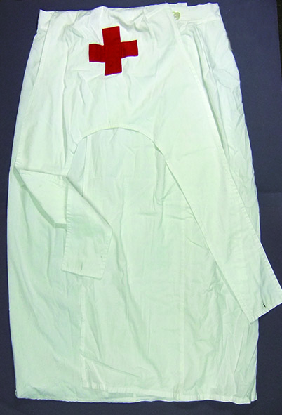 """Copy of a typical nurse's uniform worn in convalescent hospitals and homes during WW1        Normal   0           false   false   false     EN-AU   X-NONE   X-NONE                                                                                                                                                                                                                                                                                                                                                                           /* Style Definitions */  table.MsoNormalTable {mso-style-name:""""Table Normal""""; mso-tstyle-rowband-size:0; mso-tstyle-colband-size:0; mso-style-noshow:yes; mso-style-priority:99; mso-style-parent:""""""""; mso-padding-alt:0cm 5.4pt 0cm 5.4pt; mso-para-margin-top:0cm; mso-para-margin-right:0cm; mso-para-margin-bottom:10.0pt; mso-para-margin-left:0cm; line-height:115%; mso-pagination:widow-orphan; font-size:11.0pt; font-family:""""Calibri"""",""""sans-serif""""; mso-ascii-font-family:Calibri; mso-ascii-theme-font:minor-latin; mso-hansi-font-family:Calibri; mso-hansi-theme-font:minor-latin; mso-fareast-language:EN-US;}"""