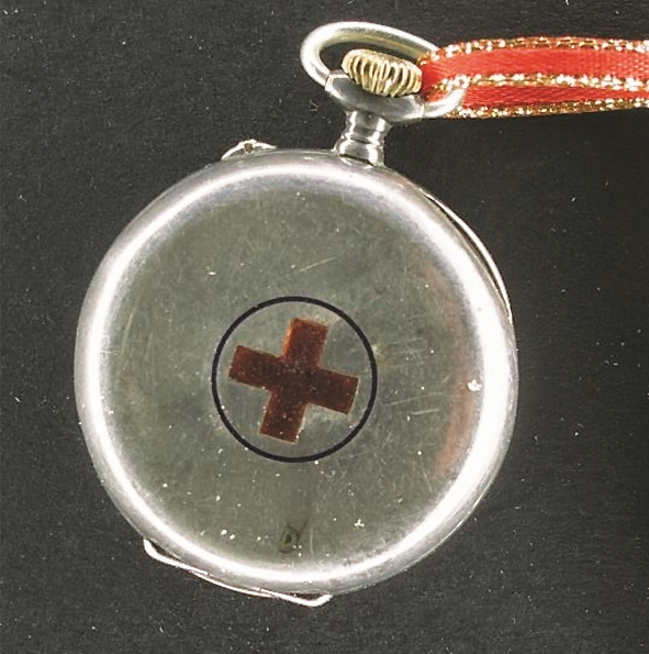 """Typical nurse's fob watch from the early 1900s used in convalescent hospitals and homes during WW1        Normal   0           false   false   false     EN-AU   X-NONE   X-NONE                                                                                                                                                                                                                                                                                                                                                                           /* Style Definitions */  table.MsoNormalTable {mso-style-name:""""Table Normal""""; mso-tstyle-rowband-size:0; mso-tstyle-colband-size:0; mso-style-noshow:yes; mso-style-priority:99; mso-style-parent:""""""""; mso-padding-alt:0cm 5.4pt 0cm 5.4pt; mso-para-margin-top:0cm; mso-para-margin-right:0cm; mso-para-margin-bottom:10.0pt; mso-para-margin-left:0cm; line-height:115%; mso-pagination:widow-orphan; font-size:11.0pt; font-family:""""Calibri"""",""""sans-serif""""; mso-ascii-font-family:Calibri; mso-ascii-theme-font:minor-latin; mso-hansi-font-family:Calibri; mso-hansi-theme-font:minor-latin; mso-fareast-language:EN-US;}"""