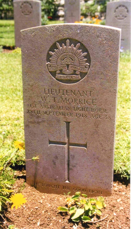 Walter Tertius Morrice grave Jerusalem
