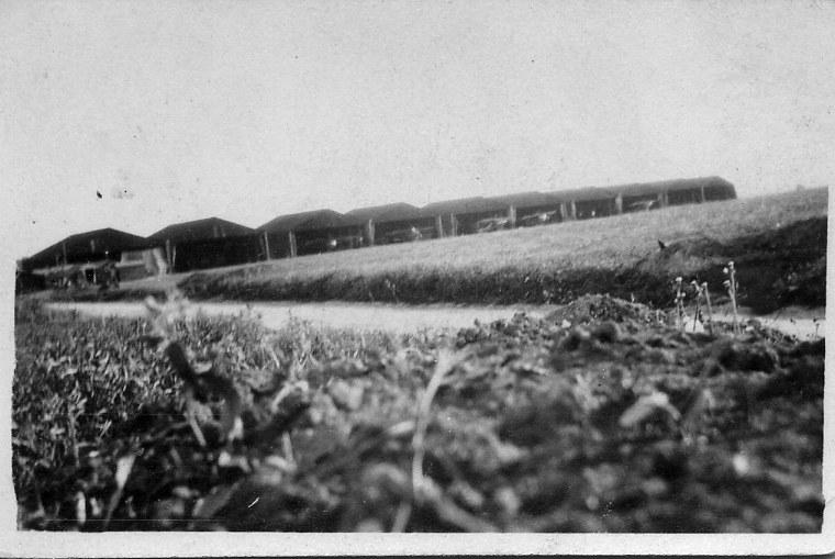 Aerodrome Lavieville France Jul 1917