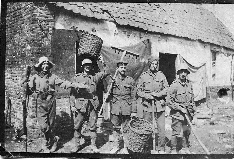 Beaumetz home April 1917
