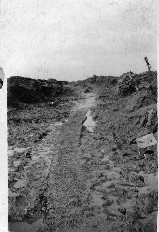 Bulls Trench Flers 1916