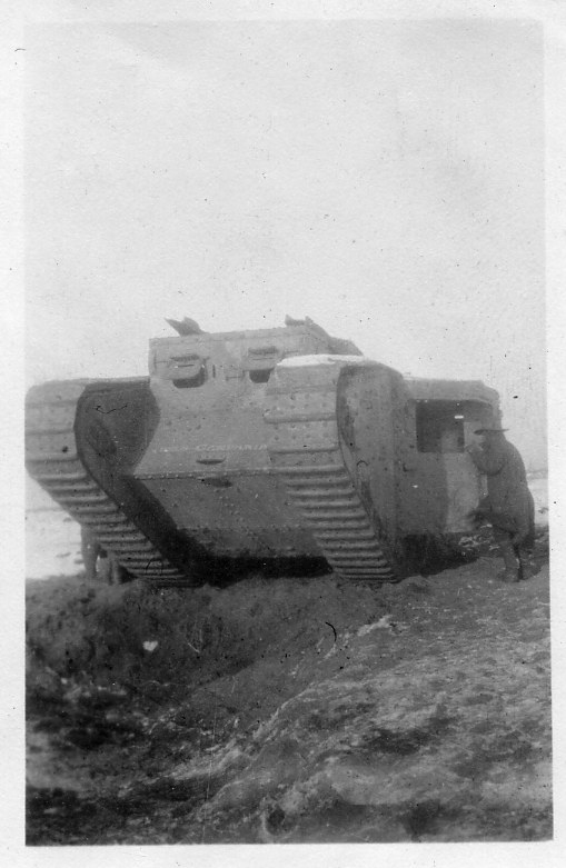 Disabled Tank 1916