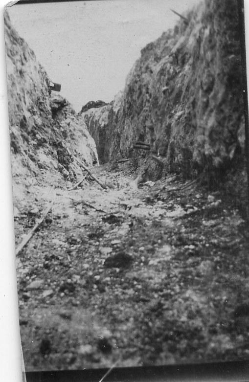 Front line Flers 1916