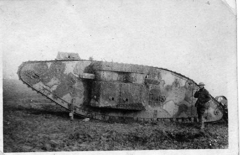 Near Flers 4 Nov 1916
