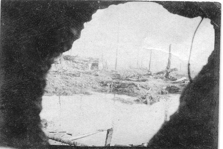 Pillbox view Feb 1918